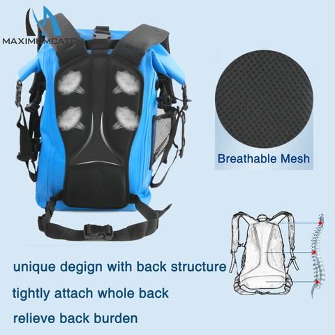 ultra duravel 500d pvc watershed fly saco de pesca com suporte tubo