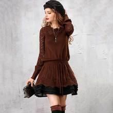 ARTKA Autumn 2018 Women's Sweater Elegant Long Sweater For Women Wool Pullover Vintage Jumper Plus Size Girls Sweaters LB15250Q
