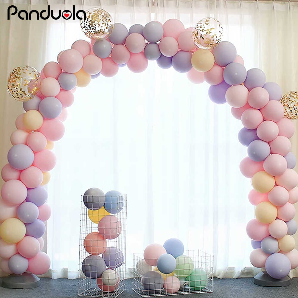 Décoration Ballon Anniversaire Birthday Party Decorations 18 Macarons Candy Color Balloons Balloons Princess Balon 1 Anniversaire Decoration Macarons Ballons