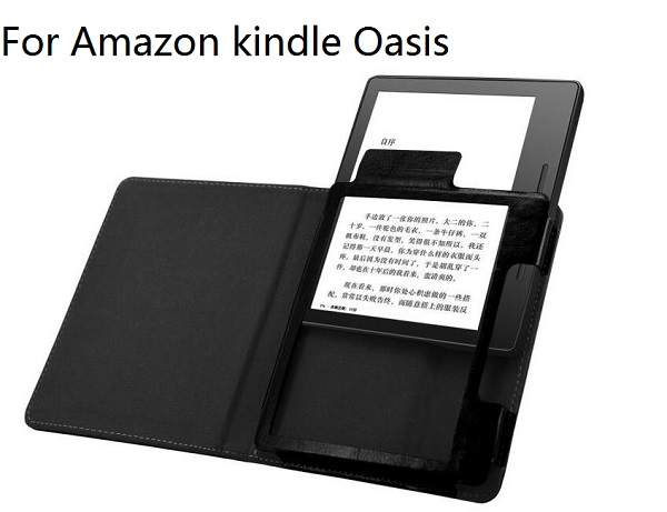 smart pu leather cover case for 2016 amazon kindle oasis