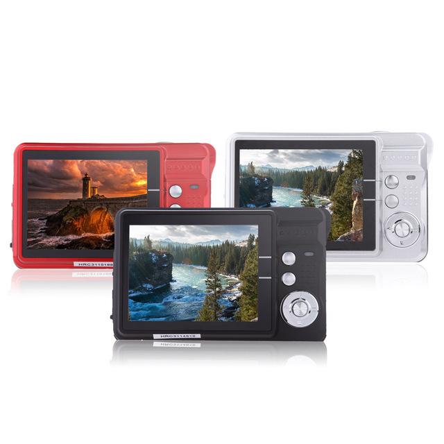 CDC32 2.7″ TFT HD Digital Camera 18MP 8x Zoom Video Camera Smile Capture Mini Camera Anti-shake Digital Camcorder Support 32G
