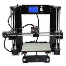 Легко собрать Анет A6 impresora 3D-принтеры комплект большой Размеры RepRap i3 DIY Принтеры с очаг нить SD Card
