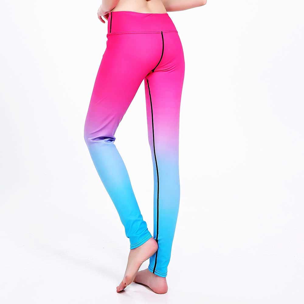 New Women Bodybuilding Run Tight Sport Compress Gym Pant Yoga Exercise Fitness Quick Dry Legging Workout Ballet Dance Clothing