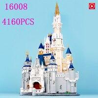 Legoed в наличии фильм 16008 71040 Золушка Принцесса замок город Набор Модель Строительный блок кирпич Развивающие игрушки для детей Подарки