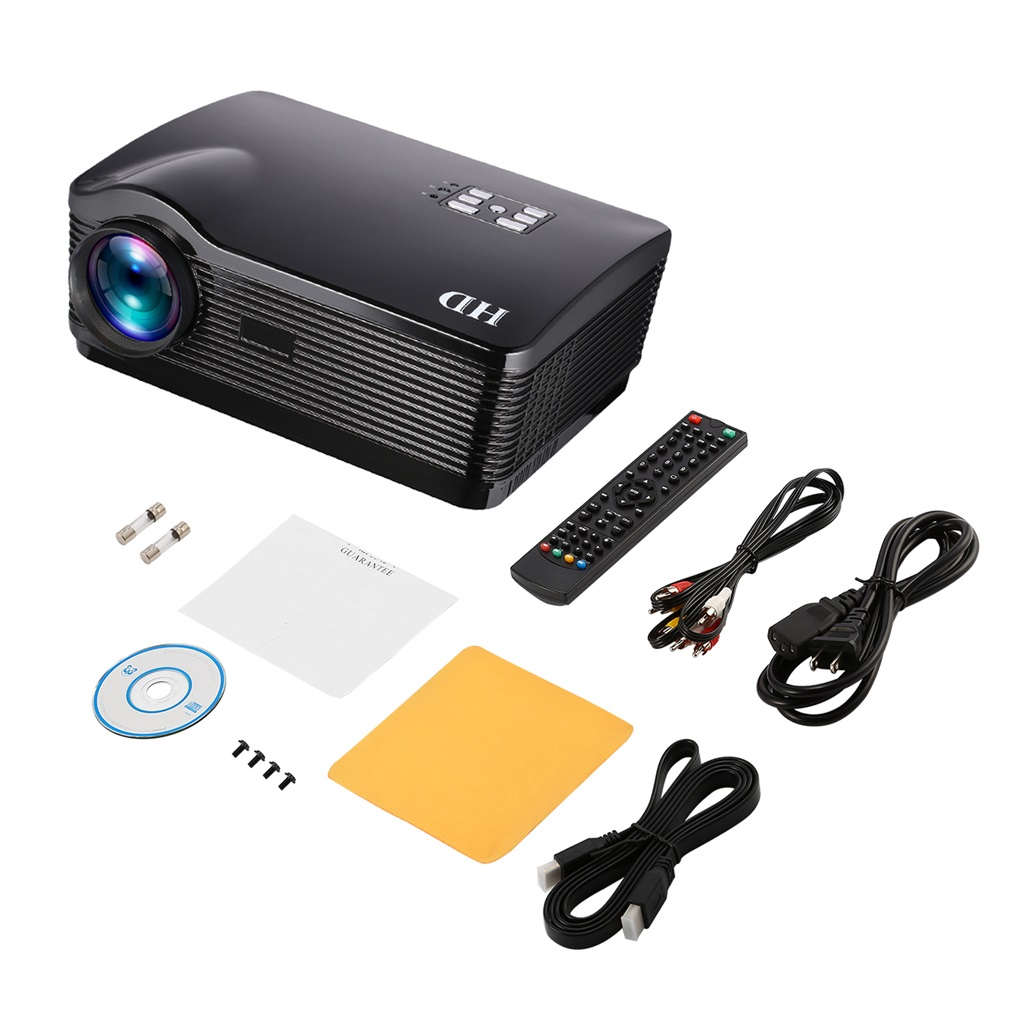 H2 1080P Full HD DLP Projector 3000 ANSI Lumens Support Android Wifi Bluetooth 3D Projector Home Theater Cinema TV Beamer HDMI