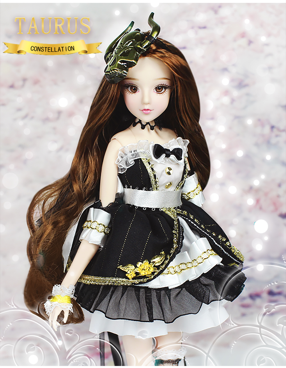 MMGirl 12 星座牡牛座よう BJD 人形 1/6 30 センチメートル高新セットのおもちゃギフト  グループ上の おもちゃ & ホビー からの 人形 の中 2