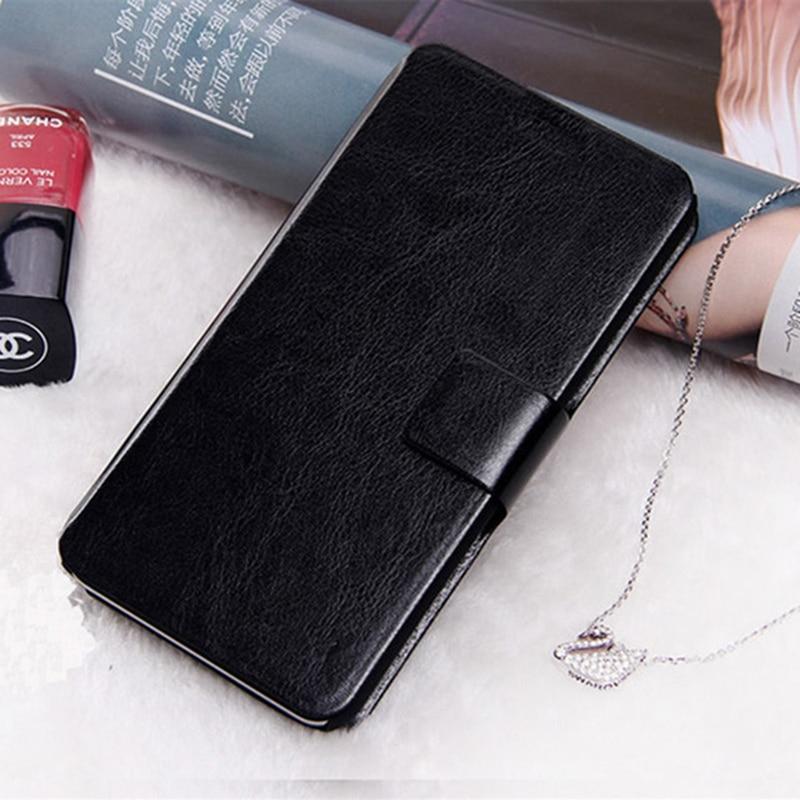 For Oukitel U15 Pro Case 5.5 inch <font><b>Flip</b></font> PU Leather Back Cover Case For Oukitel U15 Pro Case Stand Protective <font><b>smartphone</b></font> Bags Capa
