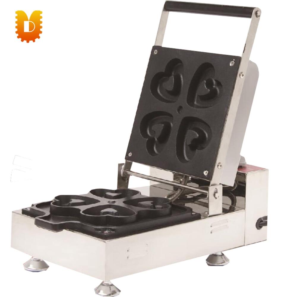 electrical 4 PCS heart shape donuts making machine/doughnut makers цена и фото