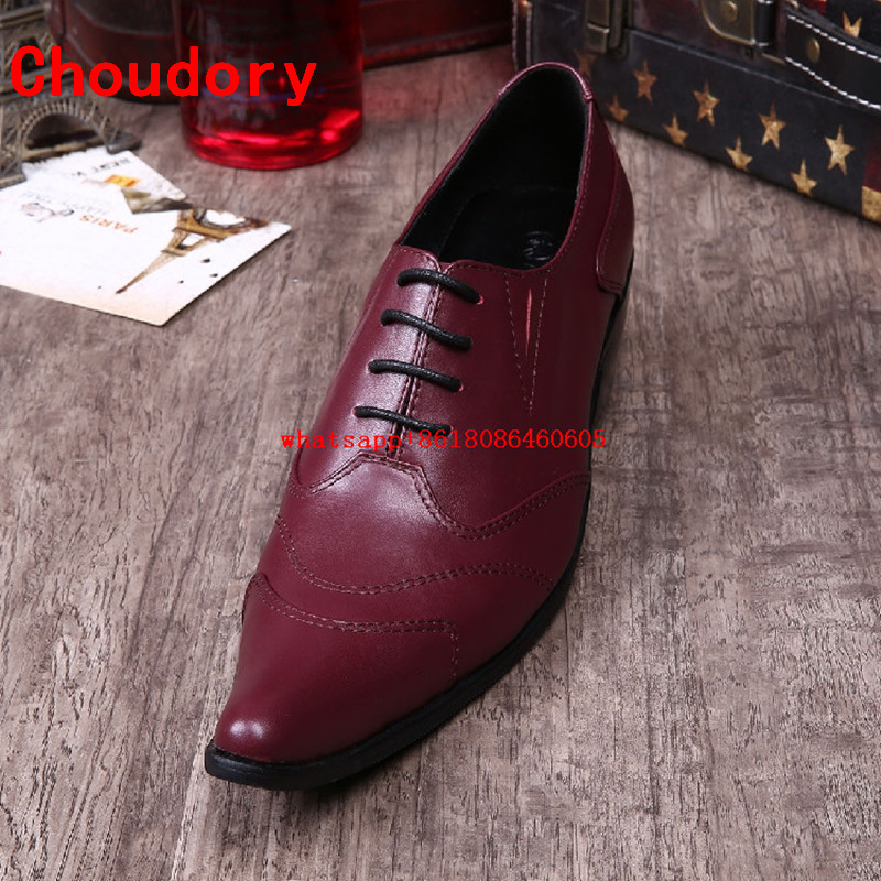 White red men leather shoes nubuck high heels mens pointed toe dress shoes lace up oxford shoes for men wedding shoes formal black white genuine leather mens dress shoes fashion pointed toe oxford shoes for men formal shoes business lace up high heels