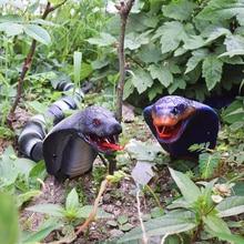 2018 Tricky Toy New Novelty Remote Control Snake Naja Cobra Animal Trick Terrifying Mischief Toy RC Snaker Garden Props Egg