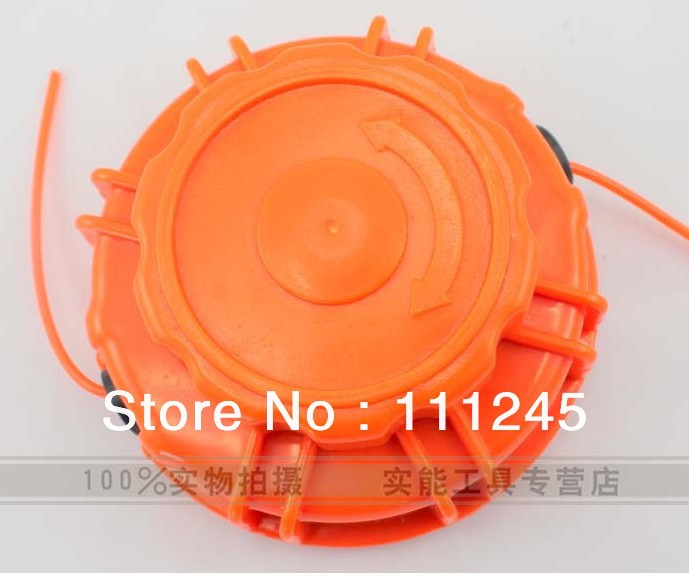 GRASS TRIMMER NYLON HEAD FOR  ALL MOST TRIMMER  FREE POSTAGE  CHEAP CUTTER HEAD 4 pre cut lines aluminum grass trimmer head for all most trimmers free postage cheap strimmer brushcutter head