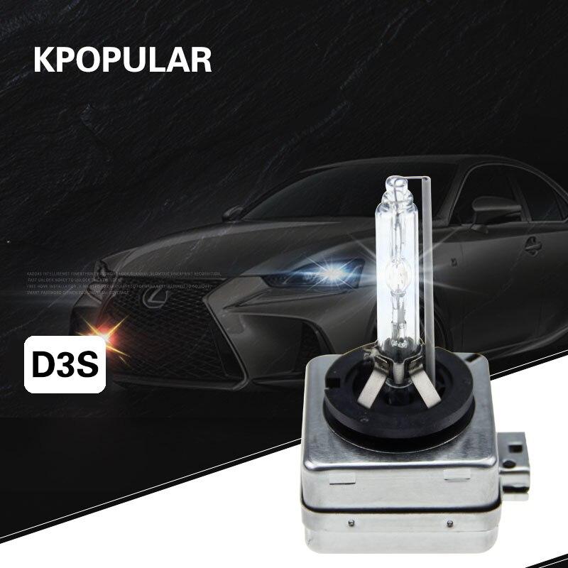 D3S Xenon bulb d3s car Xenon lamp Car headlight fog lamp DRL12V35W pair HID bulb high