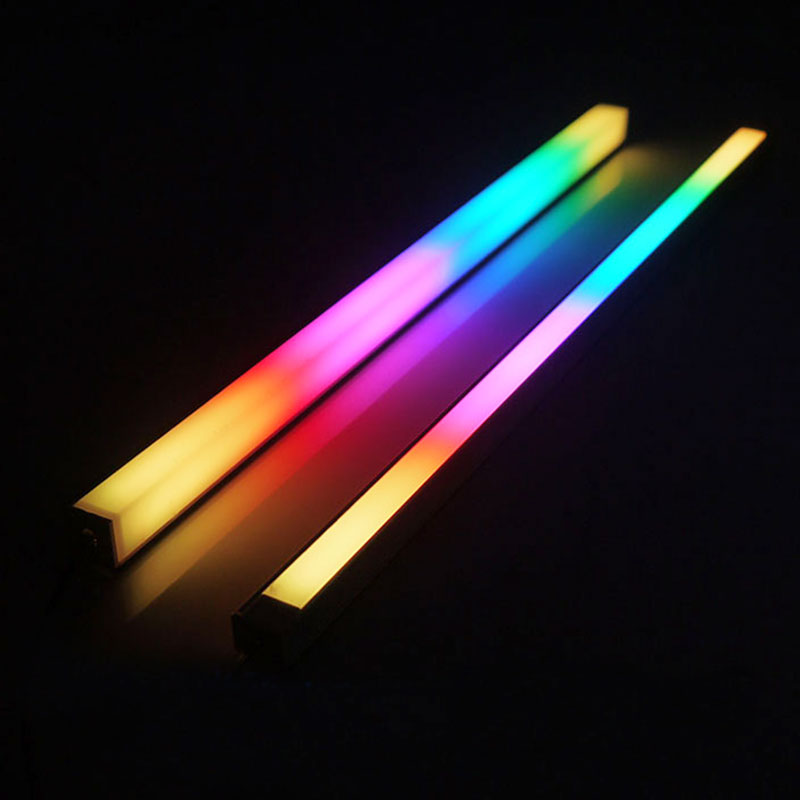 Computer 5V/3PIN Aluminum R505 Light Strip Chassis Light With Magnetic Multicolor RGB LED Pollution Color Atmosphere Lamp(China)