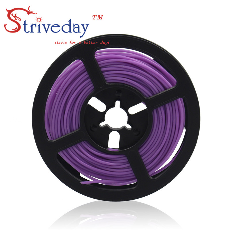 цена на 50 meters (164ft) 24AWG high temperature resistance Flexible silicone wire tinned copper wire RC power cord Electronic cable