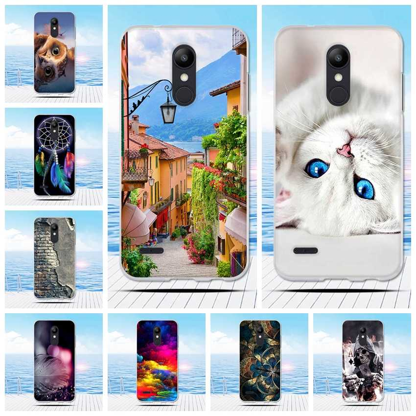 For LG K10 2018 Case Ultra Thin Silicon Soft Back Cover for K10 Plus 2018 3D Pattern Capa For LG K11 / K10 Alpha 2018 Phone Case