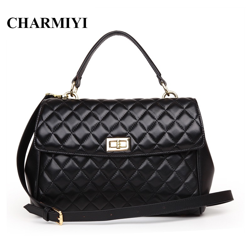 CHARMIYI designer genuine leather handbags high quality women messenger bags fashion Wings bag ladies brand shoulder bag tote designer brand genuine leather women tote bag fashion women leather handbags messenger shoulder bags for women hb 131