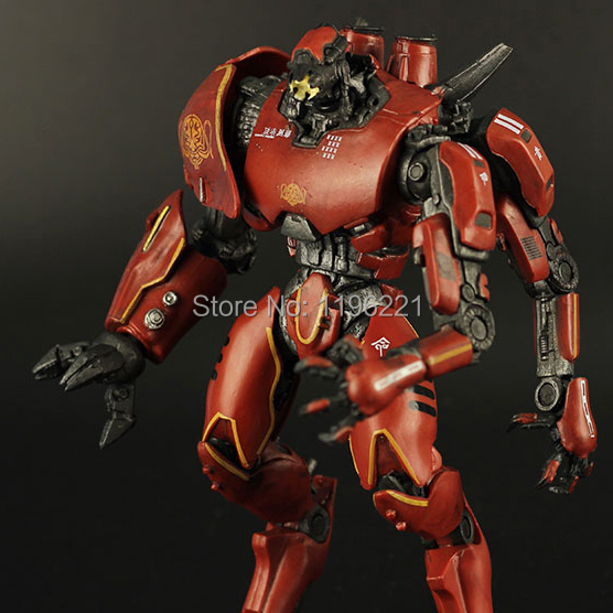 Free shipping NECA Pacific Rim CRIMSON TYPHOON China's robot Movable joints Action figure modelo Toy 7.5  19 CM MVFG221 norfin typhoon купить в минске