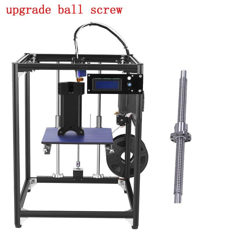 2016 black upgrade ball screw DIY 3D Printer kit big size corexy 3d printer