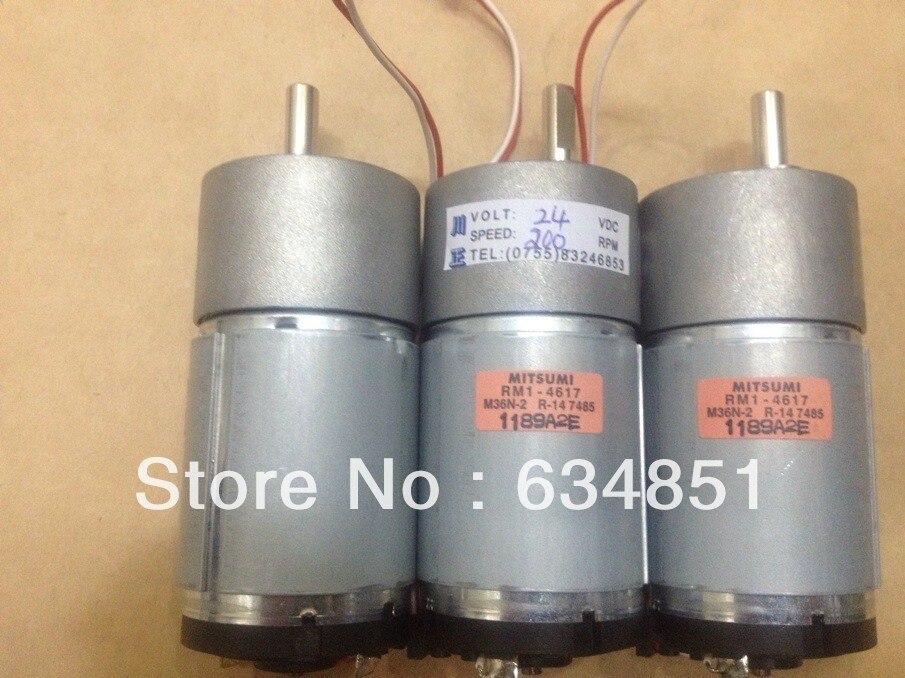 37GB545 200 24V Gear Motor Gear Motor Micro DC Motor Free Shipping