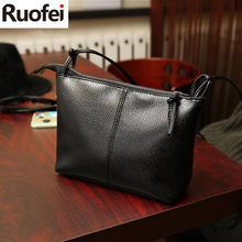 RUO FEI new&Hot ! 2017 fashion casual shoulder bag cross-body bag small vintage women's handbag pu leather women messenger bags