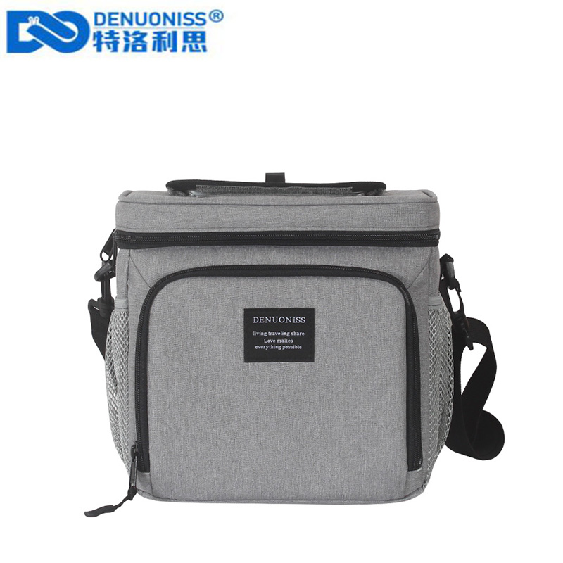 DENUONISS New Waterproof Lunch Box Bag Oxford Insulation Refrigeration Bag Ice Bag Shoulder Ice Pack Cooler Bag Sac IsothermeDENUONISS New Waterproof Lunch Box Bag Oxford Insulation Refrigeration Bag Ice Bag Shoulder Ice Pack Cooler Bag Sac Isotherme