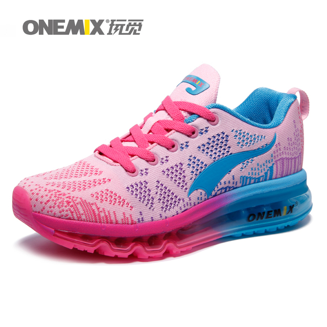 9c8ec3dc465889 ONEMIX Brand Top Quality Women Running Shoes with Mesh Cushion Women Sport  Shoes Girls Outdoor Sneakers Factory Direct Sale 1118