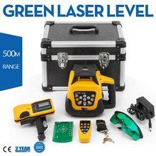 Nivel láser Verde de 360 grados, Nivel rotativo Verde, autonivelante Vertical