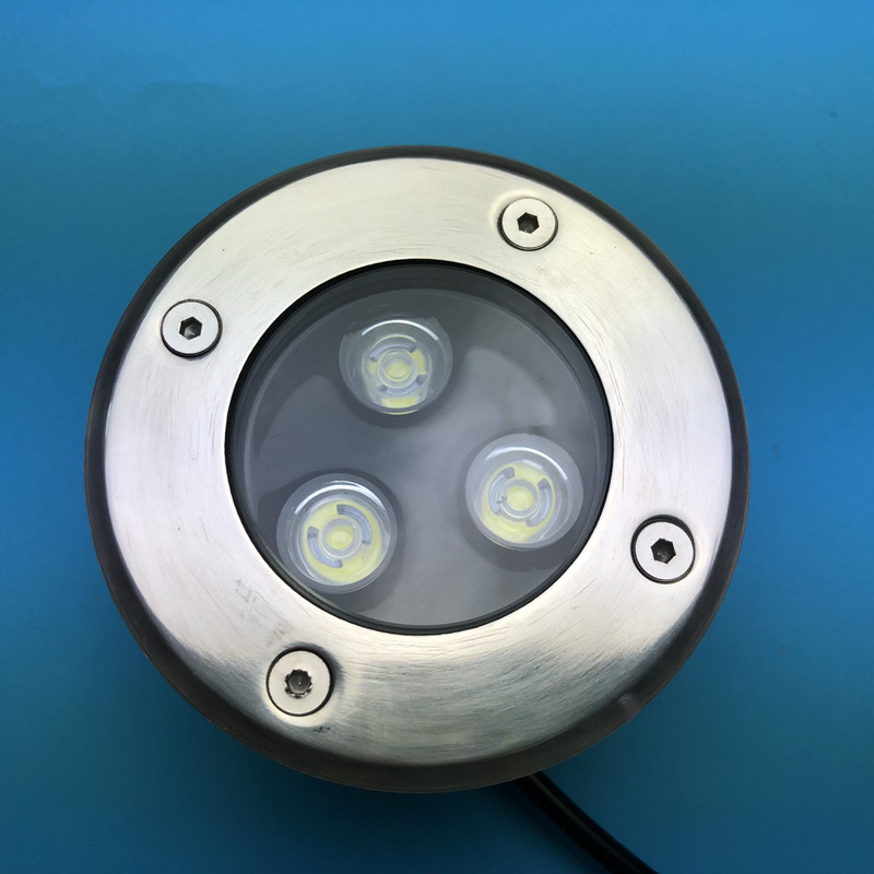 Rapture 9w Led Underground Light Ip68 Waterproof Ac85-265v/dc12v Outdoor Buried Lamp Bulb For Ground Garden Path Floor Yard Landscape Hot Sale 50-70% OFF Led Underground Lamps Lights & Lighting