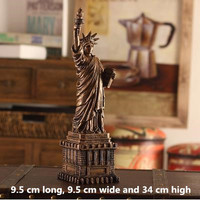 Retro Statue of Liberty, Petronas Towers, Eiffel Tower, Ornaments, Decorations, Photography Props