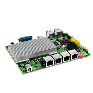 Image 5 - Qotom Mini Pc 4 Gigabit Micro pc Core i3 i5 i7 Fanless Mini PC Computer AES NI OPNsense Firewall router Dünne client