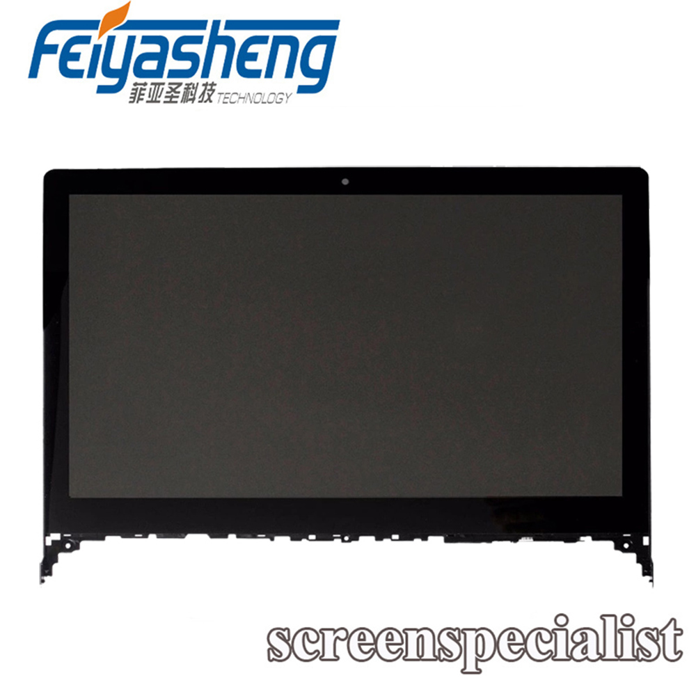 Considerate For Lenovo Flex 2-15d 20377 15.6 Fhd Led Lcd Touch Screen Display Assembly Frame Keep You Fit All The Time Computer & Office