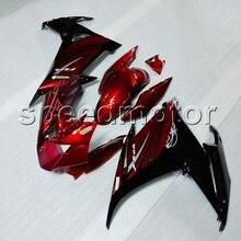 Parafusos + Presentes + acessórios de moto VERMELHO FZ6R 2009 2010 2011 2012 ABS carenagem da motocicleta para YAMAHA FZ6 09 10 11