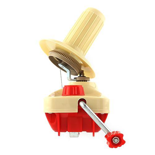 Caliente mano-operación hilados Winder agujas de tejer de lana hilo fibra madeja bola sostenedor ordenado hogar Costura herramientas