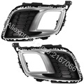 fits MAZDA 6 SPORT 2007 2008 2009 2010 Cover Fog Lights - Bezel Driving Lamps Pair Quality