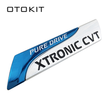 Чистый Привод XTRONIC CVT Nismo металлическая эмблема значок хвост наклейка для Nissan Qashqai X-Trail Juke Teana Tiida Sunny Note автомобильный Стайлинг