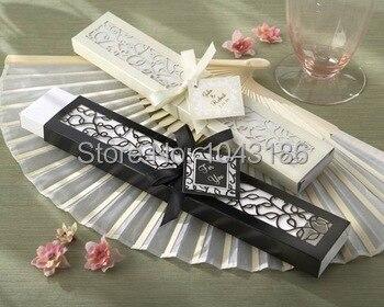Free Shipping 100pcs Luxurious Silk Fan Wedding Gifts Novelty Decoration Soap Bubble Favors