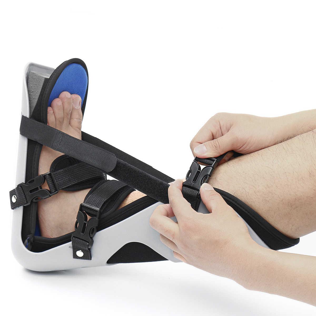 Enkelbrace Ondersteuning Foot Drop Spalk Guard Verstuiking Orthese Fracturen Ankle Braces Voor Ehbo Fasciitis Heel Pain