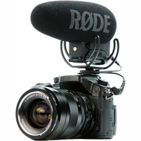 Rode VideoMic Pro+ plus Shot gun interview video studio Microphone Rycote Lyre for Canon Panasonic camera DSLR Microphone mic