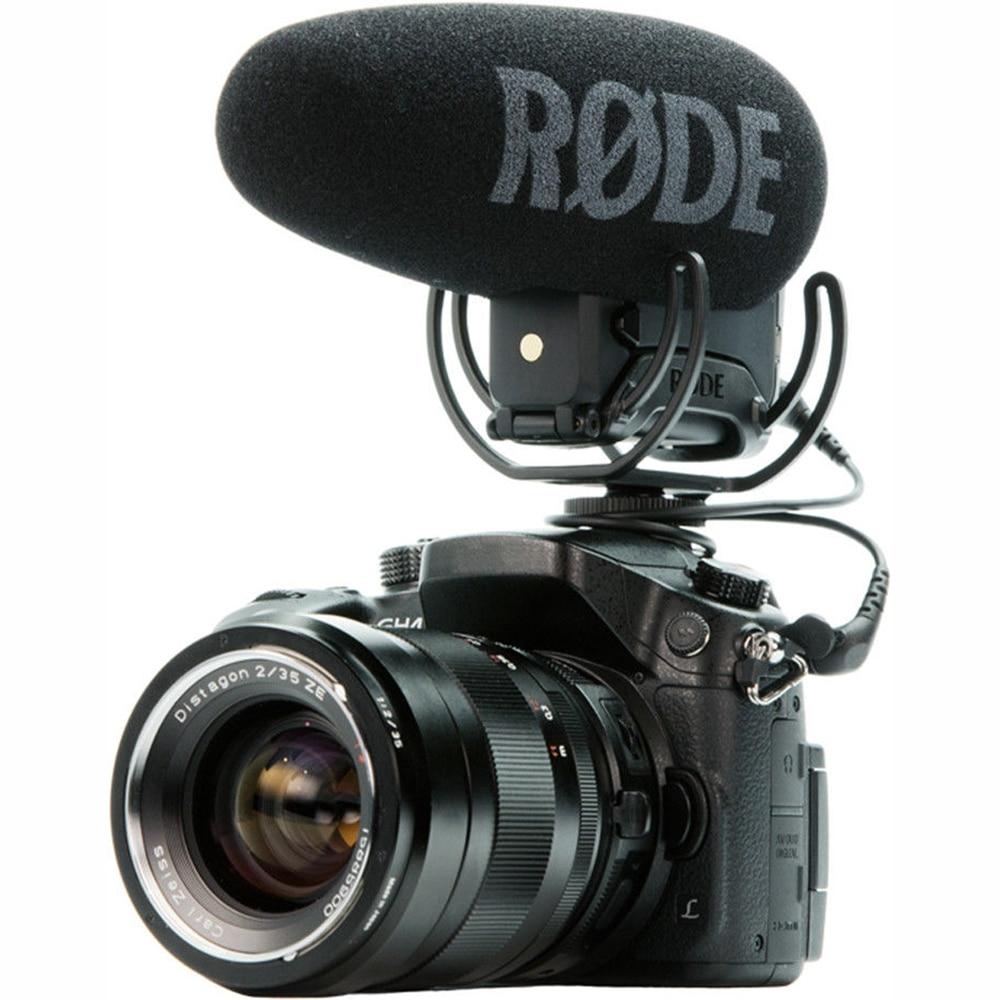 Rode VideoMic Pro + plus gun Shot interview vidéo micro studio Rycote Lyre pour Canon Panasonic caméra DSLR microphone
