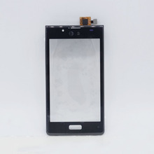 New Brand for LG Optimus L7 P705 P700 Touch Screen Digitizer Replacement parts with Frame white or black