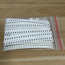 Купить с кэшбэком Free shipping  1206 SMD Resistor Kit Assorted Kit 1ohm-1M ohm 1% 33valuesX 20pcs=660pcs Sample Kit