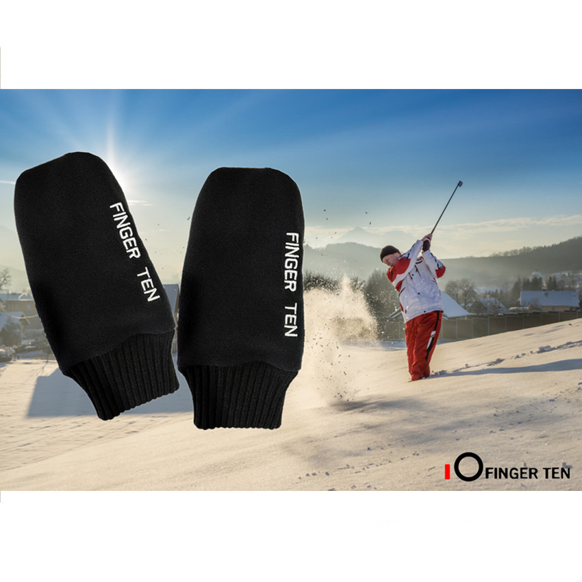 Mittens Snow Women Men Gloves Skiing Sports Camping Climbing Running Valuables Winter Warm Grip Mittens Snowboard Pair M L XL
