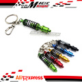 Motorcycle Metal Shock Absorber keychain keyring For kawasaki Z800 Z750 Z1000 Versys 650 1000 ZX10R ZX6R ZX14R ER-6N All models