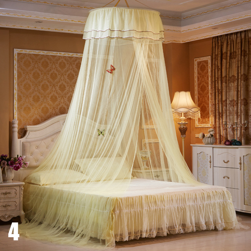 Canopy Bedroom Curtains: Aliexpress.com : Buy New Elegant Round Bedding Mosquito