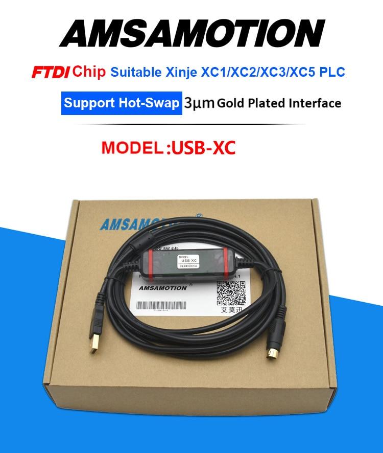 USB-XC PLC Programming Cable For XINJE-PLC XC Seires XC1//XC2//XC3//XC5