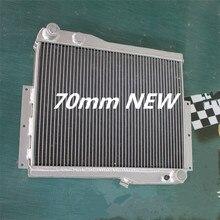 Высокая производительность 70 мм алюминиевого сплава радиатора для MG MGB GT V8 1973-1976 1974 1975