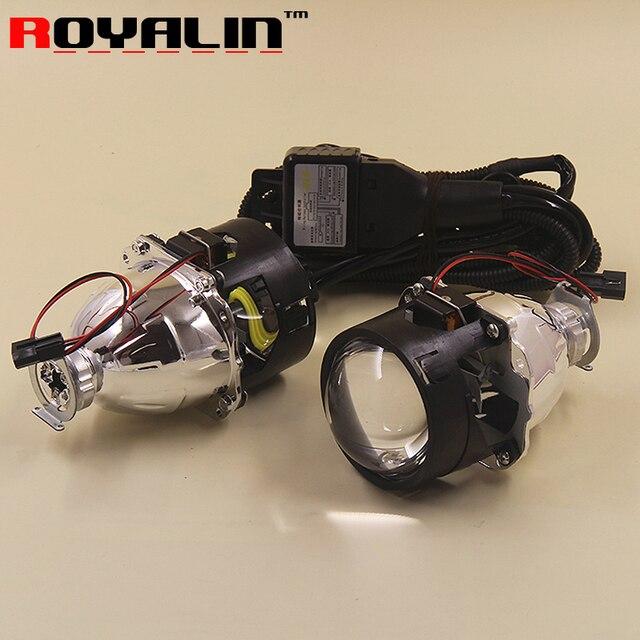 2.5 би ксенон мини HID проектор линзы в фары автотовары LHD ржс без плащаница для H1 лампа H4 H7 для укладки дооснащения ксеноновые фары ходовые огни для авто машины бмв линзы ксенон для фар автомобиль