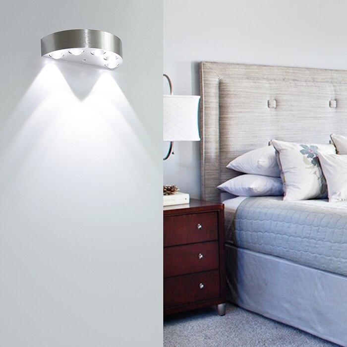 LED Sconce Səthi quraşdırılmış 5W 6W Divar Çırağı Daxili - Daxili işıqlandırma - Fotoqrafiya 2