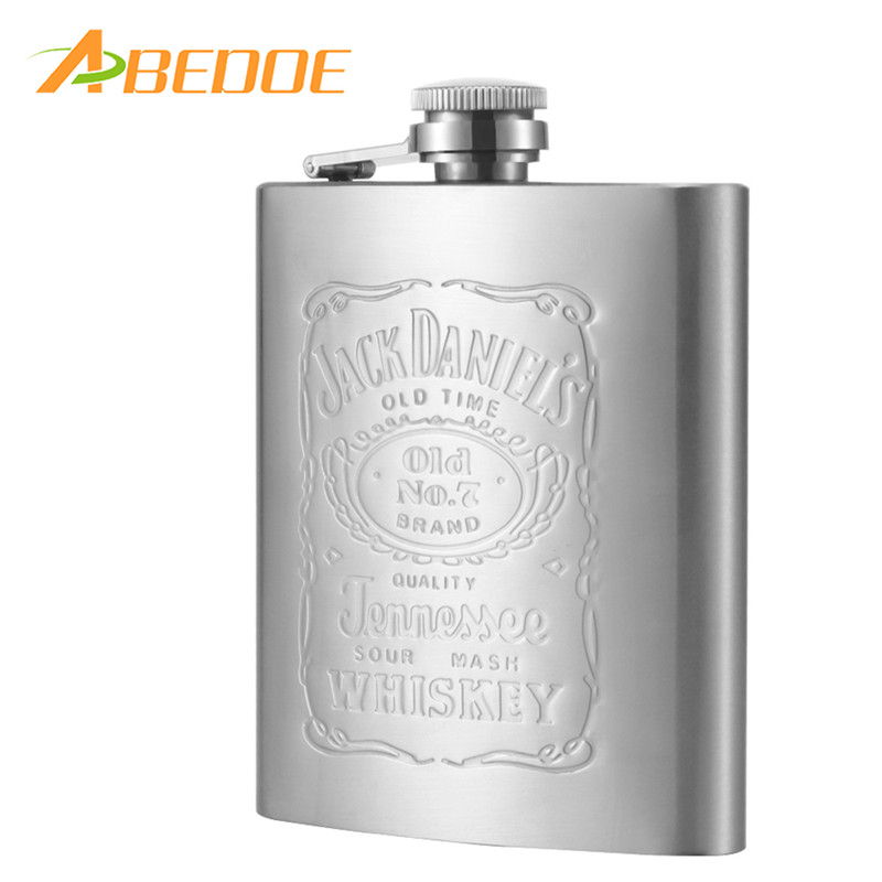 New Mini Portable 5oz Stainless Steel Alcohol Whiskey Wine Pot Flagon Flask OL