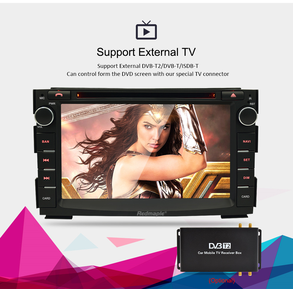 Image 4 - 8 Core Android 8.0 Car Multimedia Player For Kia Ceed 2010 2011 2012 Audio Stereo WiFi RDS DVD 2 Din Video Radio GPS Navigation-in Car Multimedia Player from Automobiles & Motorcycles